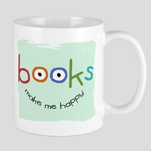 Books Make Me Happy Mug