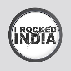 I Rocked India Wall Clock
