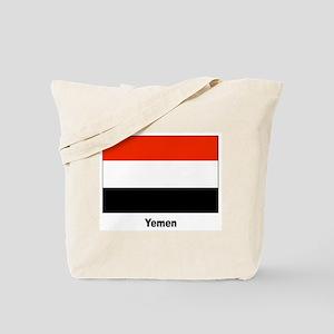 Yemen Yemeni Flag Tote Bag