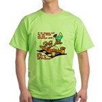 Lay on the Beach Green T-Shirt