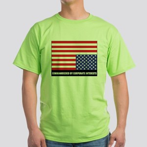 upside-down-flag2black T-Shirt