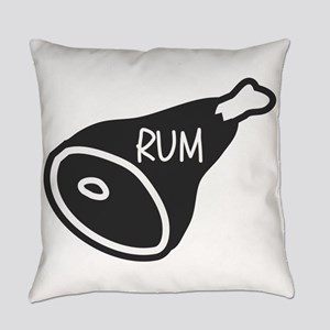 Rum Ham Everyday Pillow