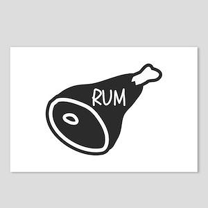 Rum Ham Postcards (Package of 8)
