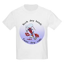 Cajun Crawfish Kids Light T-Shirt