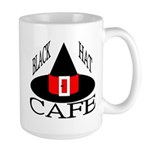 Black Hat Cafe Large Mug