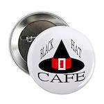 Black Hat Cafe Button