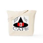 Black Hat Cafe Tote Bag