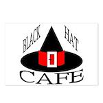 Black Hat Cafe Postcards (Package of 8)