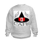 Black Hat Cafe Kids Sweatshirt