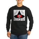 Black Hat Cafe Long Sleeve Dark T-Shirt
