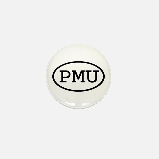 PMU Oval Mini Button