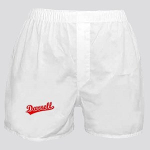 Retro Darrell (Red) Boxer Shorts