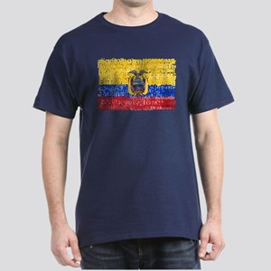 Textual Ecuador Dark T-Shirt
