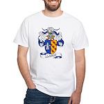 Llanos Family Crest White T-Shirt