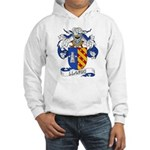 Llanos Family Crest Hooded Sweatshirt