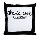 Fuck Off Throw Pillow