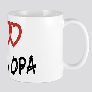 I Love Oma and Opa Mug