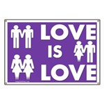 Love is Love Marriage Diversity Banner
