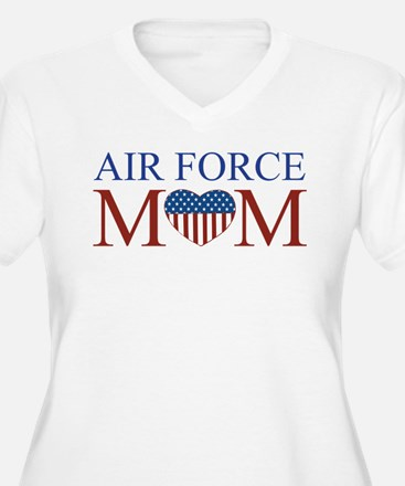 Patriotic Air Force Mom T-Shirt
