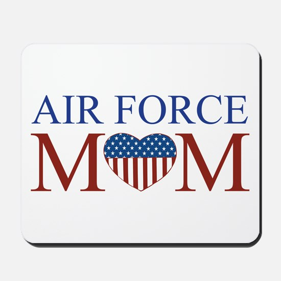 Patriotic Air Force Mom Mousepad