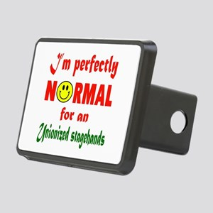 I'm perfectly normal for a Rectangular Hitch Cover