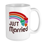 Just Married Large Mug