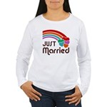 Just Married Women's Long Sleeve T-Shirt