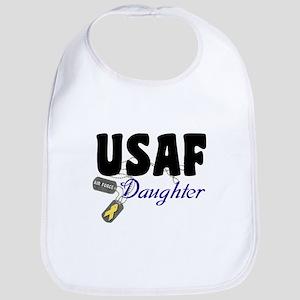 USAF Daughter Bib