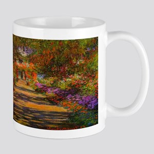 Claude Monet Garden in Giverny Mugs