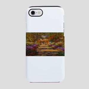 Claude Monet Garden in Giverny iPhone 8/7 Tough Ca