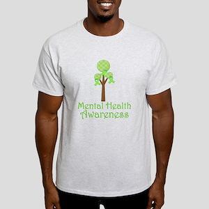 Mental Health Awareness Tree White T-Shirt