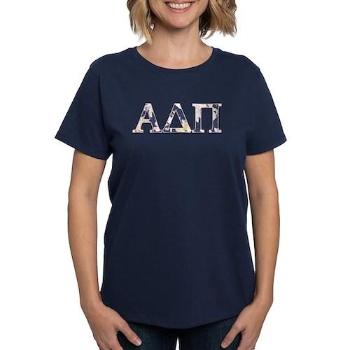 Alpha Delta Pi Flower Tee