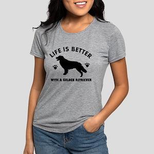 Golden retriever breed Design T-Shirt