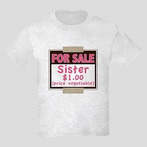 For Sale Sister $1 Kids Light T-Shirt