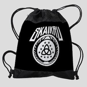 The 100 Skaikru Drawstring Bag