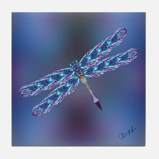Dragonfly - Tile Coaster