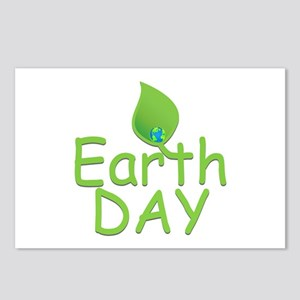 Earth Day Leaf Postcards (Package of 8)