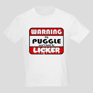 Puggle LICKER Kids Light T-Shirt