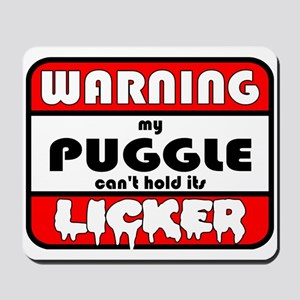 Puggle LICKER Mousepad