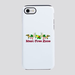 Meat-Free Zone iPhone 8/7 Tough Case