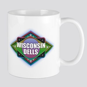 Wisconsin Dells Diamond Mugs