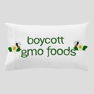 Boycott GMO Foods Pillow Case