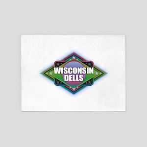 Wisconsin Dells Diamond 5'x7'Area Rug