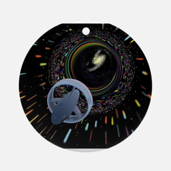 Worm Hole Ornament (Round)