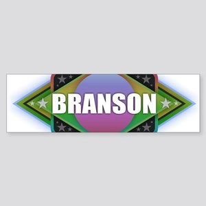 Branson Diamond Bumper Sticker