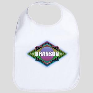 Branson Diamond Baby Bib