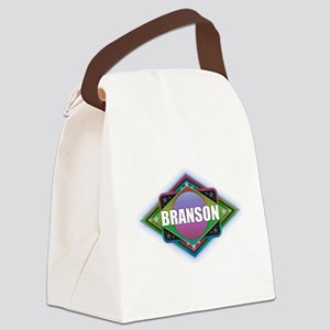 Branson Diamond Canvas Lunch Bag