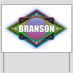 Branson Diamond Yard Sign