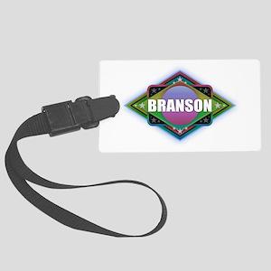 Branson Diamond Large Luggage Tag