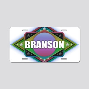 Branson Diamond Aluminum License Plate